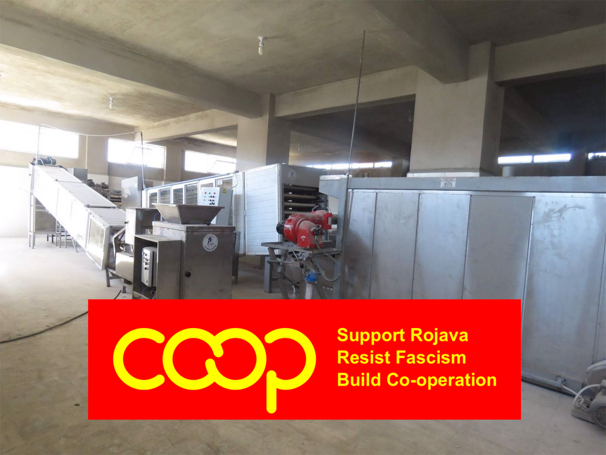 Progress Building Bakery co-op in Rojava